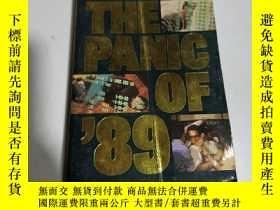 二手書博民逛書店THE罕見PANIC OF 89(英文)Y212829