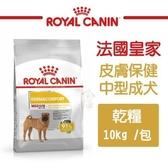 *KING WANG*法國皇家《皮膚保健中型成犬乾糧DMM》10kg/包