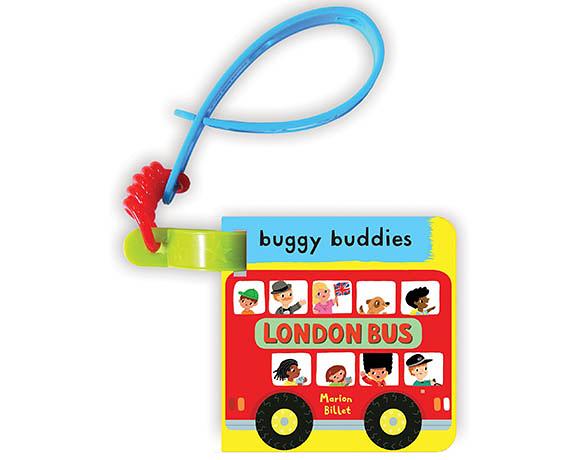 My First London Bus Buggy Buddy 倫敦巴士之旅 硬頁吊掛書