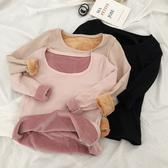 DE shop - 修身保暖內衣加厚加絨長袖T恤 - TT-1997
