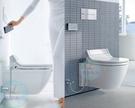 【麗室衛浴】 建設公司送 德國DURAVIT  STARCK3  懸吊馬桶含原廠頂級電腦馬桶蓋 客戶不想懸吊
