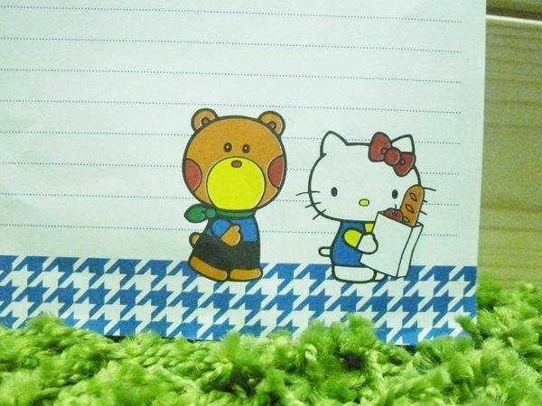 【震撼精品百貨】Hello Kitty 凱蒂貓~便條-格子【共1款】