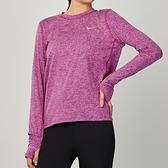 Nike element crew 女款 粉 運動 慢跑 長袖 上衣 CU3278-564