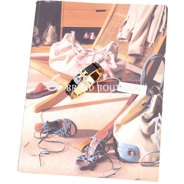 TORY BURCH Raised-Logo 經典雙T琺瑯手環(黑色) 1820212-01