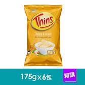 澳洲THINS洋芋片-起士洋蔥口味(175gx6包)-箱購