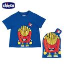 chicco-點心時刻-可收納短袖上衣-薯條