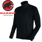 【MAMMUT 男Aconcagua 彈性刷毛外套《黑》】17860-0001/刷毛外套/刷毛衣