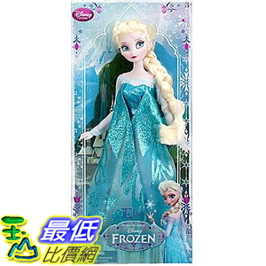 [美國直購] Disney 411047225040 Frozen Exclusive 12 Classic Doll Elsa - 2013 Edition 迪士尼 艾莎