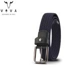 【橘子包包館】VOVA 穿針式皮帶 彈性編織皮帶 VA011-003 穿孔式皮帶