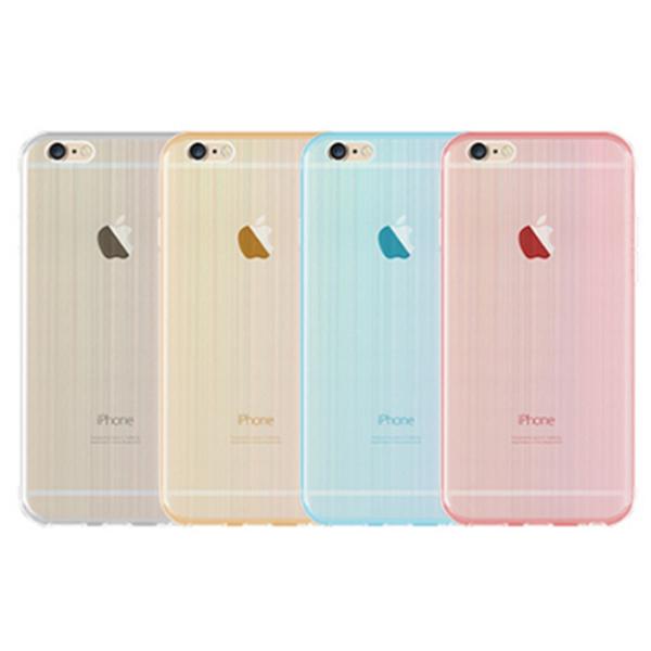 軟殼 手機套 背蓋 iPhone 6 s plus + 手機殼 保護套 清水套【DA0016】佰 極美 雷射拉絲 TPU