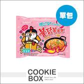 【即期品】韓國 SAMYANG 三養 辣雞 奶油 義大利麵 (單包入) 130g 泡麵 消夜 限定款 *餅乾盒子*