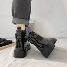 【快出】短靴網紅增高瘦瘦馬丁靴女夏季款ins潮靴新款百搭復古英倫風短靴