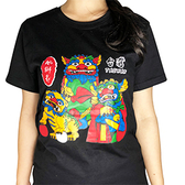 【收藏天地】創意T恤 台灣 風獅爺 ∕ 黑/白/灰色/藍/深藍/紅 創意T恤 送禮 旅遊紀念