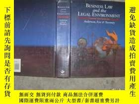 二手書博民逛書店BUSINESS罕見LAW and the LEGAL ENVI