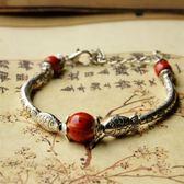 陶瓷手鍊-雙魚復古生日情人節禮物女串珠手環3色73gw61[時尚巴黎]