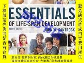 二手書博民逛書店Essentials罕見of Life-Span Develop