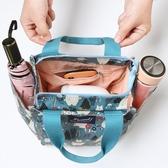便當袋上班族外出帶飯裝飯盒包保溫便當包時尚手提袋子帆布手拎媽咪包包 免運快出