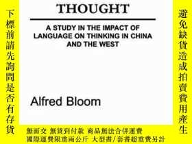 二手書博民逛書店The罕見Linguistic Shaping Of ThoughtY256260 A. H. Bloom P