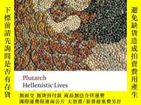 二手書博民逛書店Hellenistic罕見Lives: Including Al