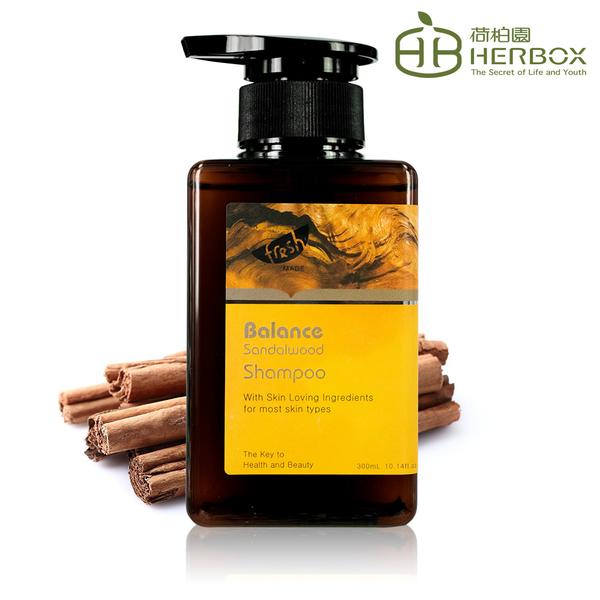 荷柏園Herbox 檀沐和絃洗髮精 300ml