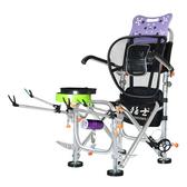 猛士釣椅釣魚椅全地形可躺摺疊便攜多功能台釣椅子漁具釣魚座椅凳好樂匯