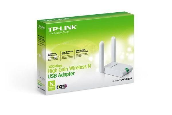 【台中平價鋪】全新 TP-LINK TL-WN822N 300Mbps 高增益無線 USB 網路卡