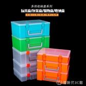 lego機器人配件收納盒加高工具盒雙層玩具箱 手提塑料樂高零件盒 創時代YJT