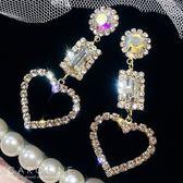 《Caroline》★韓國熱賣造型時尚Bling  Bling 絢麗閃亮動人耳環70256