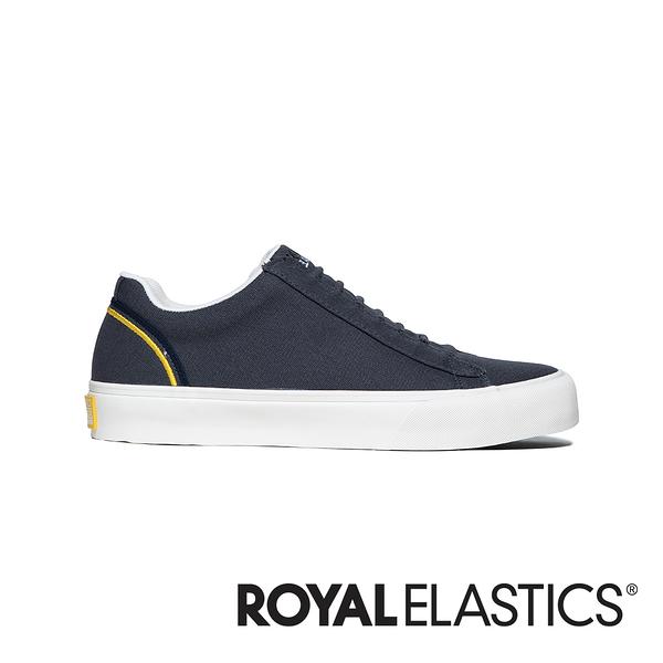 ROYAL ELASTICS CRUISER 黑帆布鞋 (男) 00612-853
