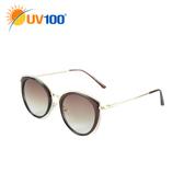 UV100 防曬 抗UV UV400太陽眼鏡-耀眼雙框