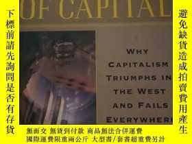 二手書博民逛書店THE罕見MYSTERY OF CAPITAL why capi