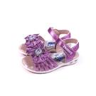 冰雪奇緣 Frozen Elsa Anna 涼鞋 電燈鞋 紫色 中童 FNKT14127 no771