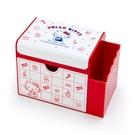【震撼精品百貨】Hello Kitty_凱蒂貓-日本三麗鷗 KITTY可愛置物收納盒附鏡#54579
