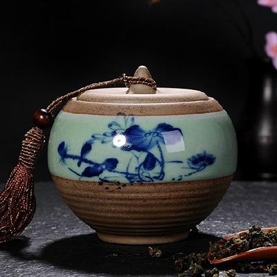 茶葉罐-粗陶陶瓷密封保存古樸泡茶品茗普洱茶罐7款69ab29【時尚巴黎】