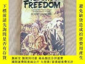 二手書博民逛書店THE罕見FLAME OF FREEDOM:Corporal Ras Pagani s escape from t