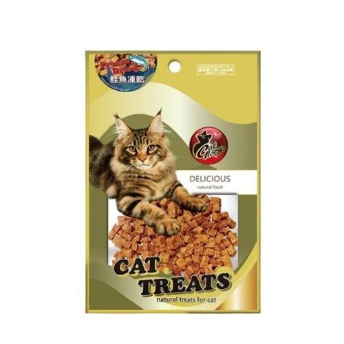 *WANG*Cat Glory驕傲貓 貓用鮭魚凍乾粒40g.加入溫水浸泡令凍乾濕潤.貓零食