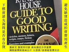 二手書博民逛書店Random罕見House Guide to Good Writ