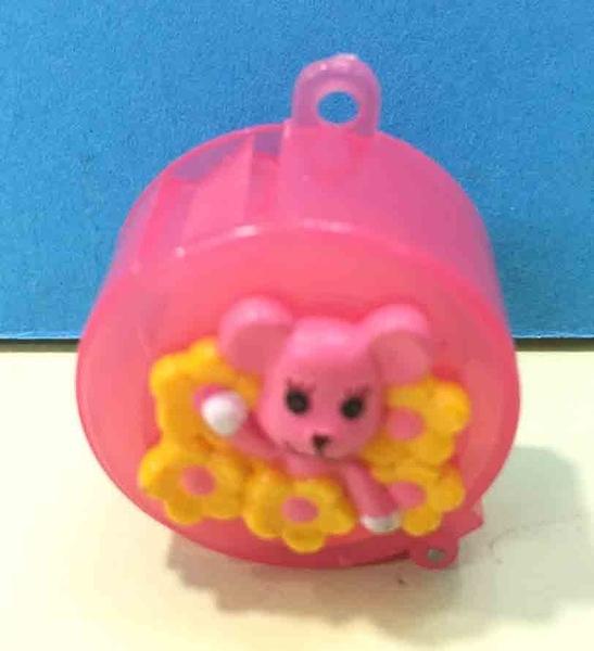【震撼精品百貨】PostPet_MOMO熊~MOMO熊迷你膠帶鎖圈~粉色#76265