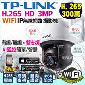 監視器 IP網路攝影機 300萬鏡頭 H.265 防水半球 手機遠端 免主機 位移跟拍 台灣安防