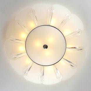現代簡約燈玻璃吸頂燈