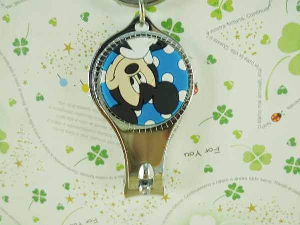 【震撼精品百貨】Micky Mouse_米奇/米妮 ~指甲刀-米奇藍點點
