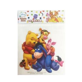 【收藏天地】迪士尼防水貼紙-小熊維尼(4款)