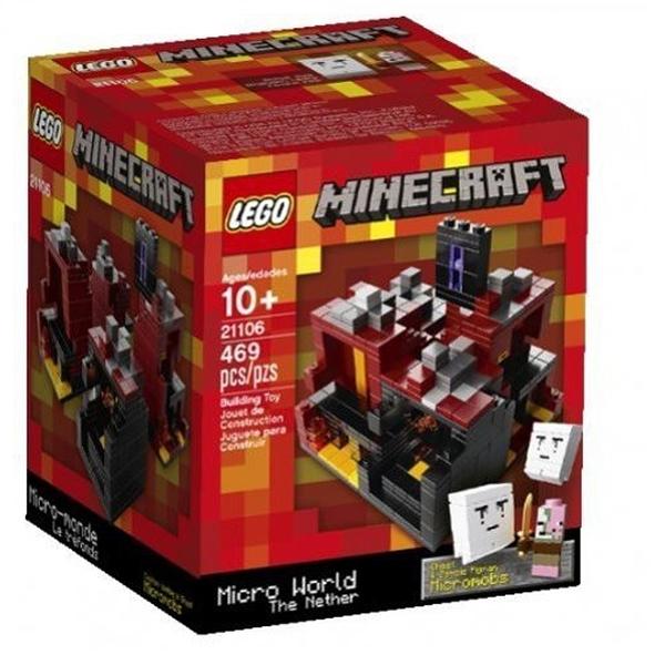 LEOO 樂高 Minecraft 創世神系列 The Nether 地獄 21106