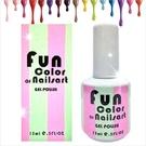 【美國原裝進口】Fun Color of Nailsart L-0006春夏光撩彩繪指甲油凝膠-15ml(41-60號) [48240]