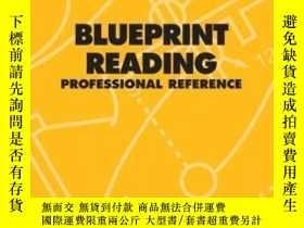 二手書博民逛書店Dewalt罕見Blueprint Reading Professional Reference (dewalt