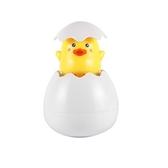 洗澡玩具 寶寶趣味益智 嬰兒漂浮噴水蛋 浴室戲水卡通玩具 噴水小鴨子 #玩具#