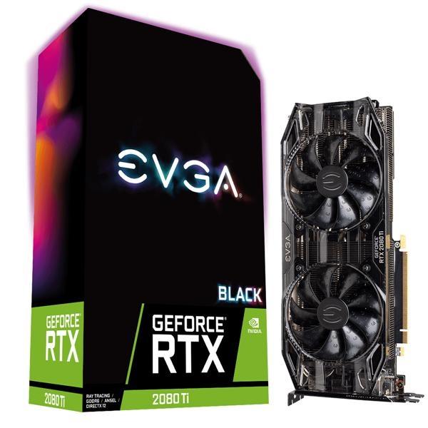 【台中平價鋪】 全新艾維克EVGA RTX2080Ti 11GB Black Edition BP GAMING GDDR6 顯示卡