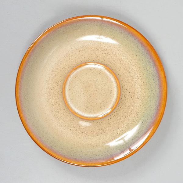 【Luzerne】陸升瓷器 Rustic 15cm 盤-白褐色 /RT1415416
