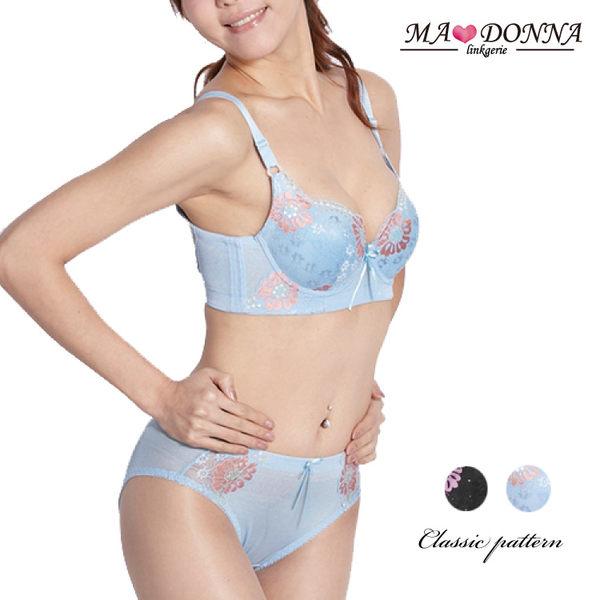 包覆美背完美胸罩 成套 內衣 B罩 2604 集中 內褲 台灣製