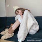 加絨打底衫 韓版冬季羊羔毛氣質加絨加厚圓領外套衛衣女寬鬆百搭網紅上衣 瑪麗蘇